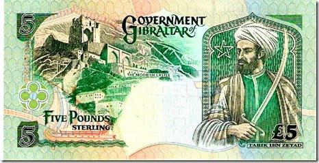Tarik ibn Zehad Gibraltar PD Sterling