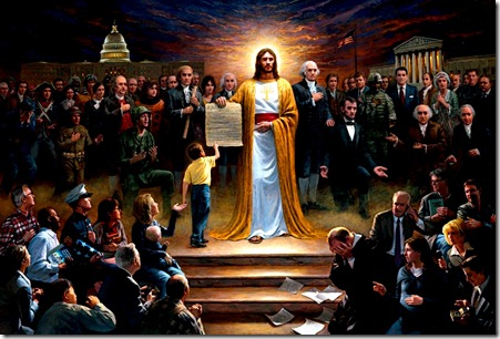One Nation Under God - Jesus lg