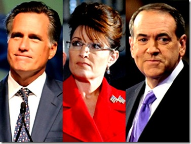 Romney, Palin & Huckabee