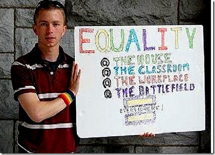 Bradley Manning the gay traitor