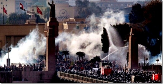 Cairo Unrest 1-28-11