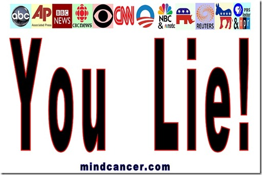 Leftist Media Lying