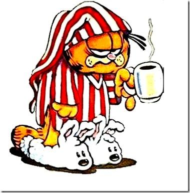 Garfield cup coffee lg