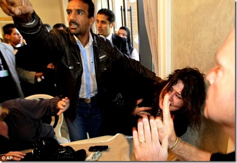 Iman Al-Obeidi hushed in public
