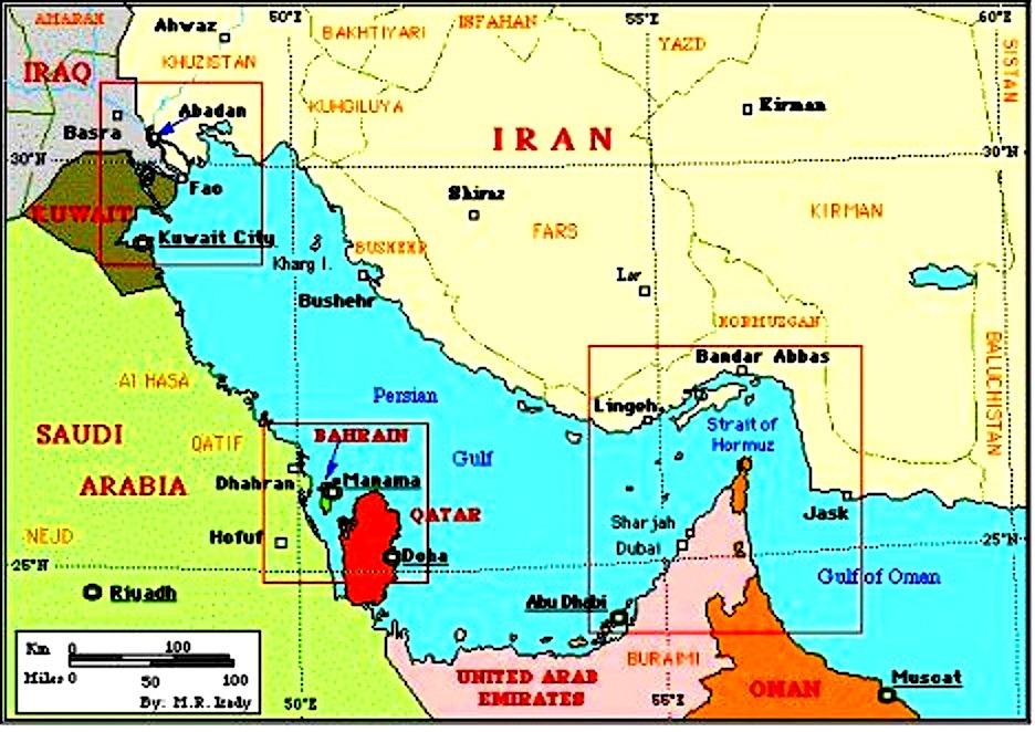 Saudi Gulf Nations Preparing To Send Militaries To Bahrain The - Where is bahrain