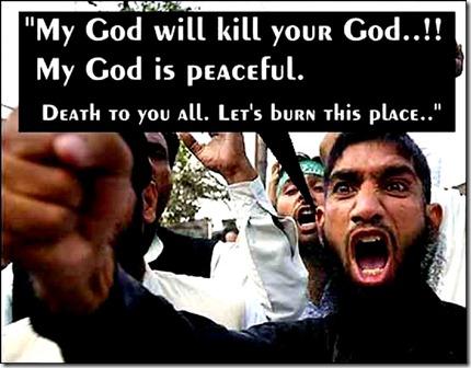 Mad Muslim - religion of peace