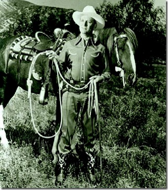 Gene Autry (I think)