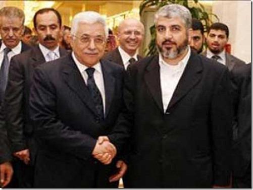 Mahmoud Abbas & Ismail Haniyeh