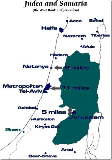 Judea-Samaria Map