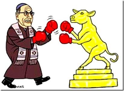 Conservative Jew v. Leftist Jew golden-calf