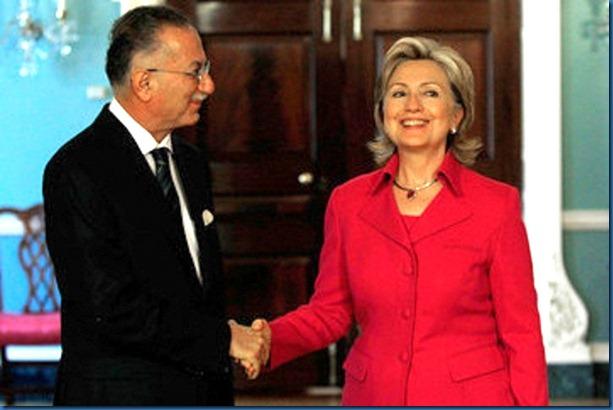 Ekmeleddin Ihsanoglu - Hilary Clinton
