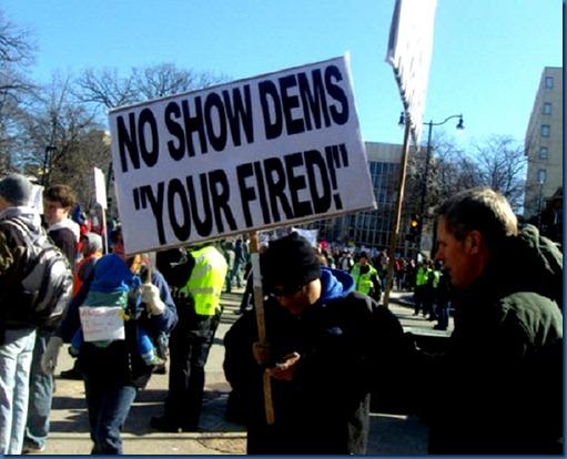 WI - Fire No Show Dems