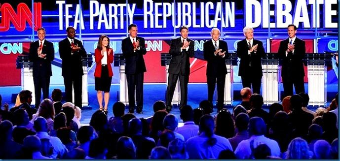 CNN-Tea Party Debate 2 9-12-11