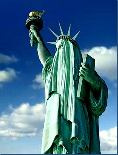 Lady Liberty Burka