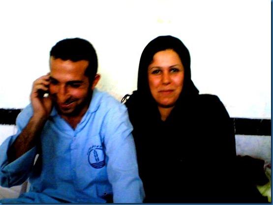 Youcef Nadarkhani - Wife Fatemah Pasindedah