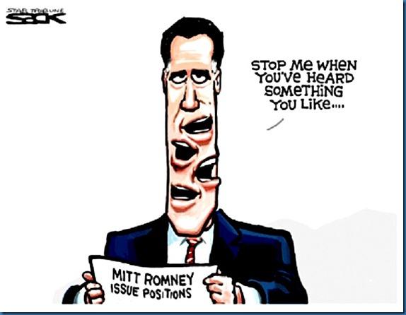 Mitt Romney toon