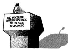 Afbeeldingsresultaat voor moderate muslim