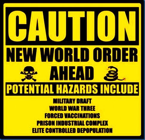 NWO Caution Sign