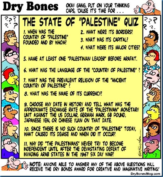 Palestine State Quiz