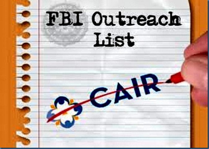 CAIR off FBI List
