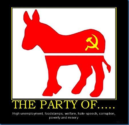 Dem Party Red Jack Ass