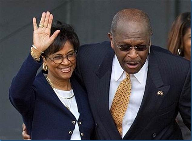 Gloria & Herman Cain 5-21-11