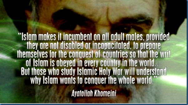 Khomeini- Conquer the World