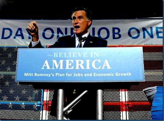 Romney Believe in America