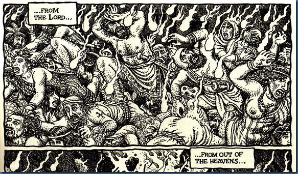 Sodom and Gomorrah by Jan Brueghel the Elder 2