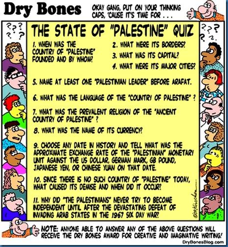 Dry Bones Palestinian Quiz