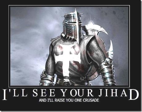 Christian Poker - Crusade v. Jihad