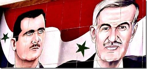 Bashar & Hafez al-Assad
