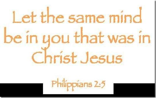 Philip. 2_5 Mind of Christ