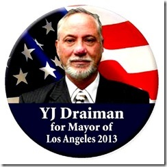 YJ Draiman - Mayor Campaign 2013