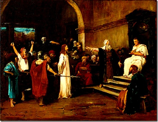 Christ before Pilate - Munkacsy