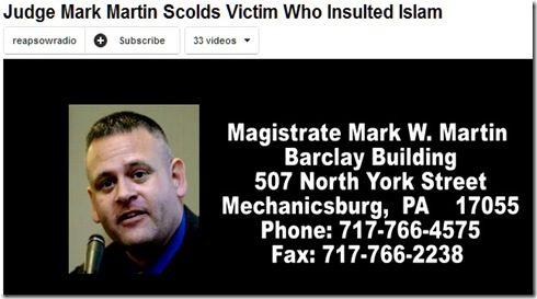 Mark Martin - Sharia Judge PA 2