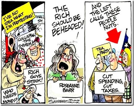 OWS vs. Tea Party Movement