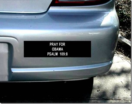 Pray for BHO bumper sticker PS 109_8