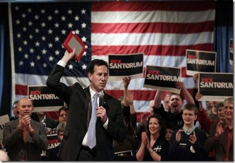 Rick Santorum - Etcher Sketch