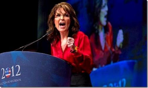Sarah Palin rallying voters 12-2-11