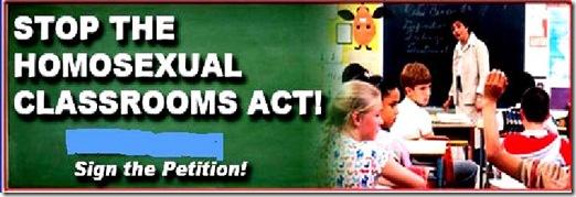 Stop Homo Classrooms Act