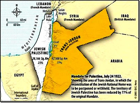 Brit Mandate for Pal after 7-24-1922