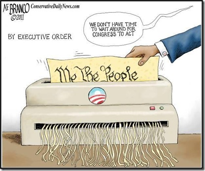 Obama-Shred-Constitution by EO