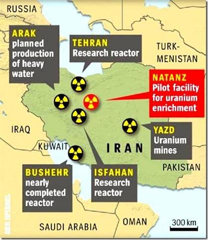 Iran Nuke  Sites