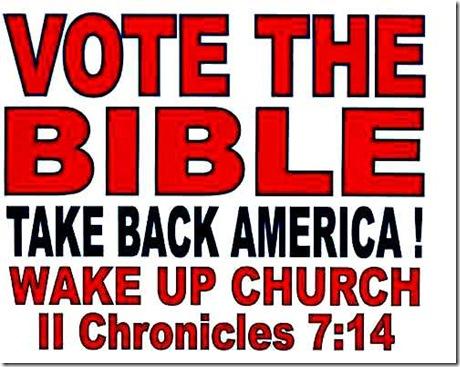 Vote the Bible