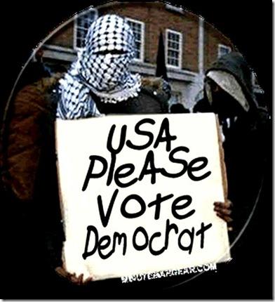 Muslim asks - Vote Dem