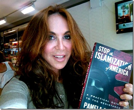 Pam Geller showing BK-SIOA