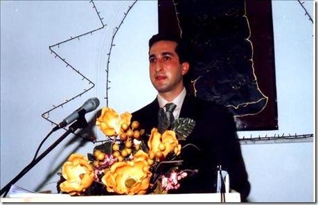 Pastor Youcef Nadarkhani preaching
