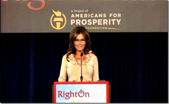 Sarah Palin - RightOnlin 2012 Conference lg