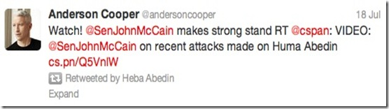 Heba- Watch Anderson_Cooper_McCain Tweet